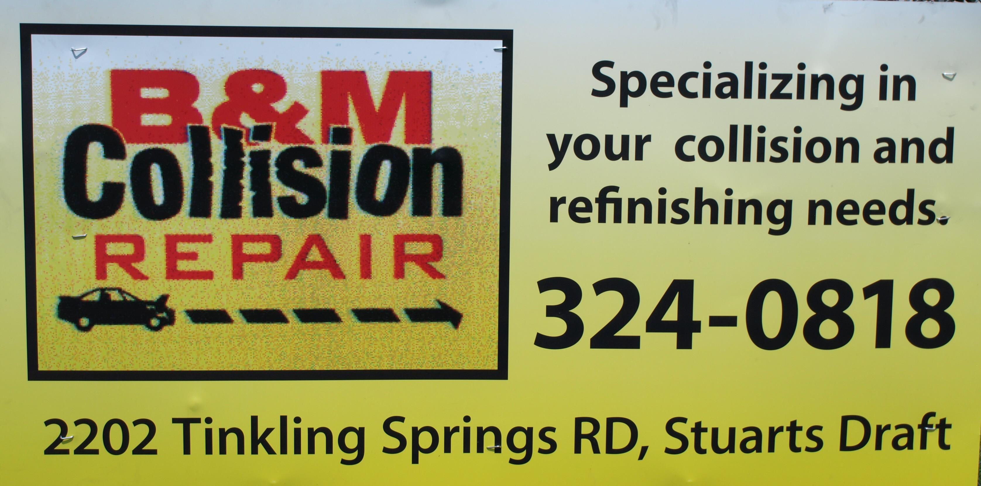 B & M Collision Repair