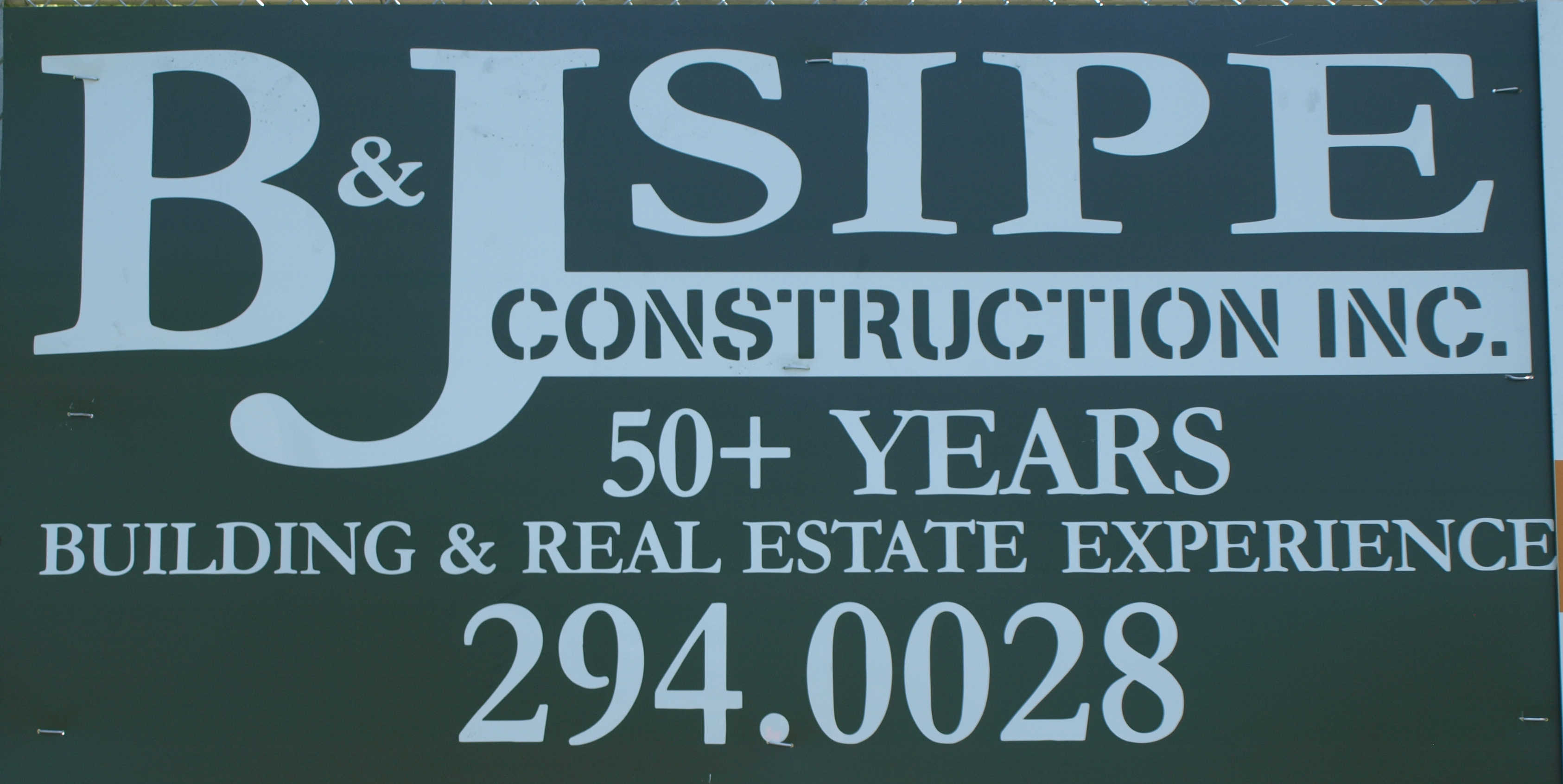 B&J Sipe Construction Co,
