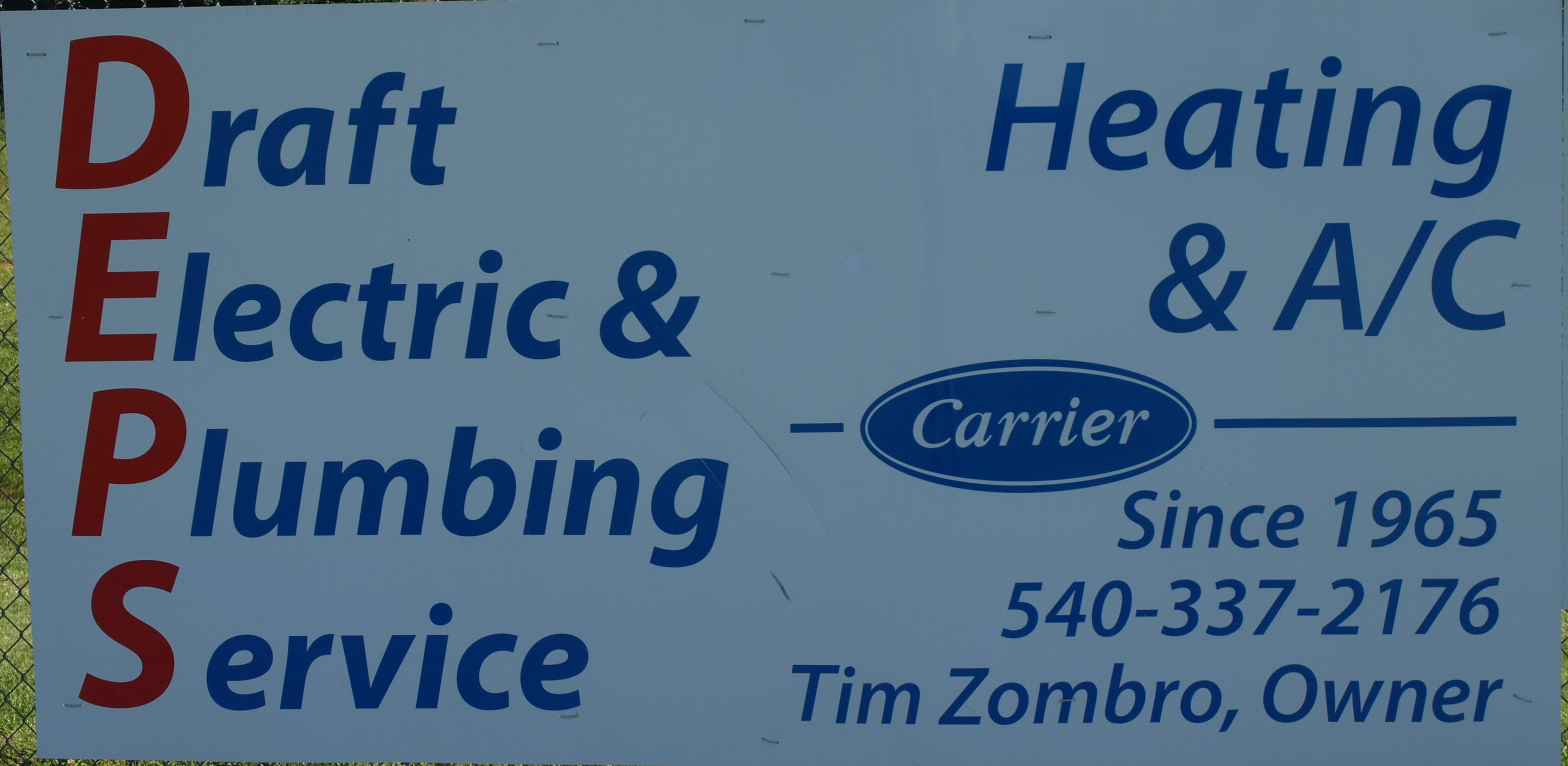 Draft Electric & Plumbing Service