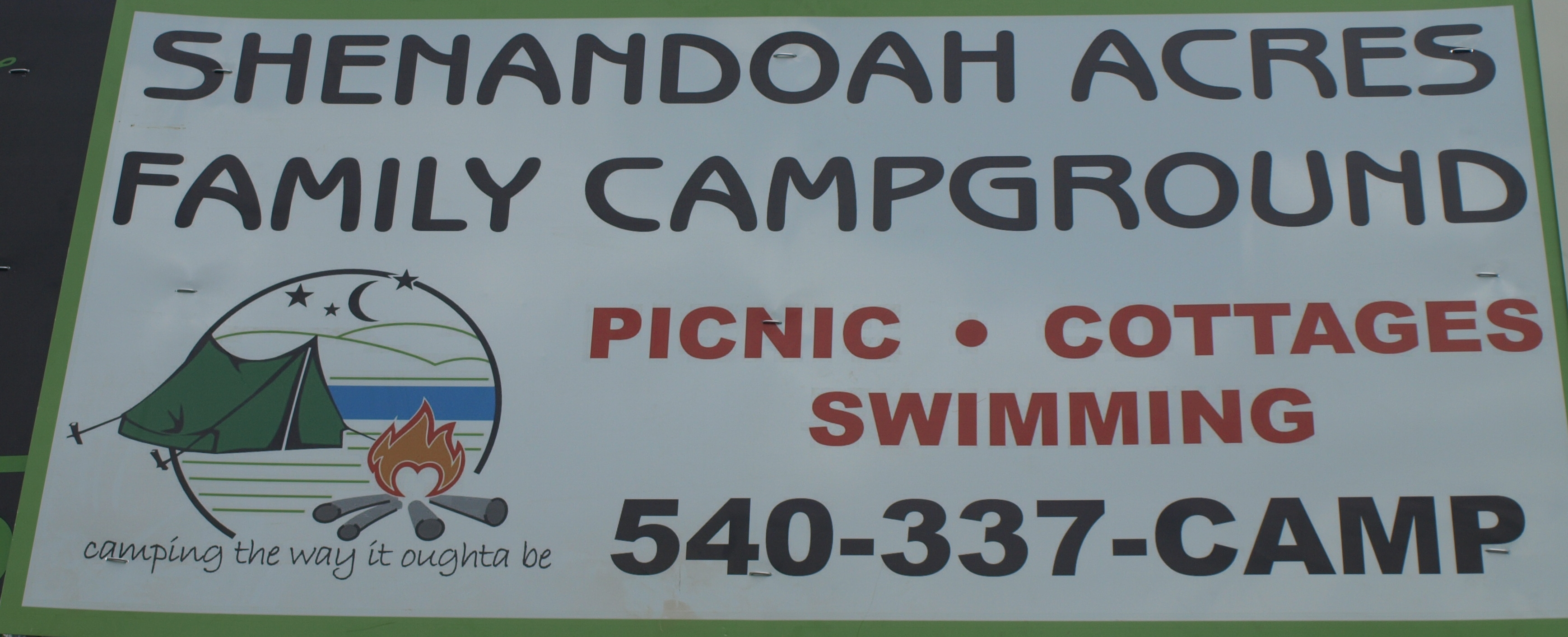 Shenandoah Acres Family Campground